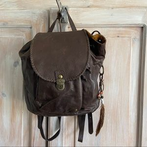 Patricia Nash Leather Backpack Purse NEW